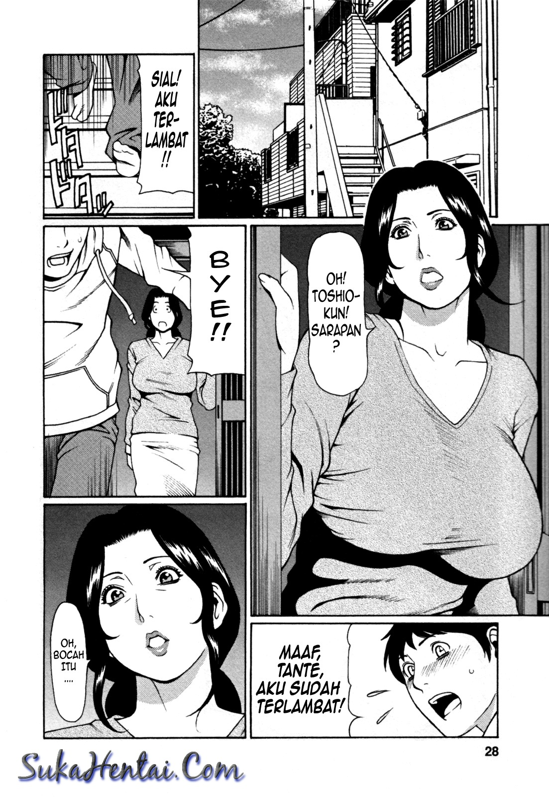 Komik hentai sex hot gimmick tante tubuh sintal big boob