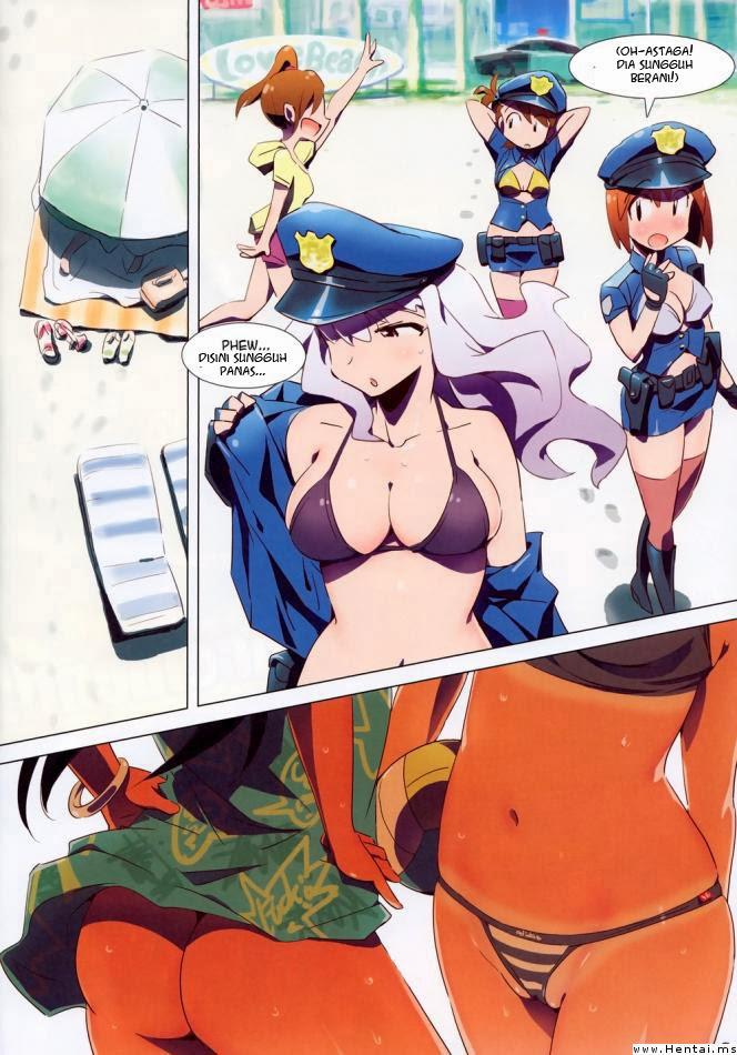Image 6_1 in Komik Hentai Sex Nafsu Para Polwan
