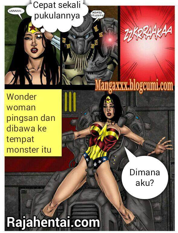 Wonder porn superhero flash and woman