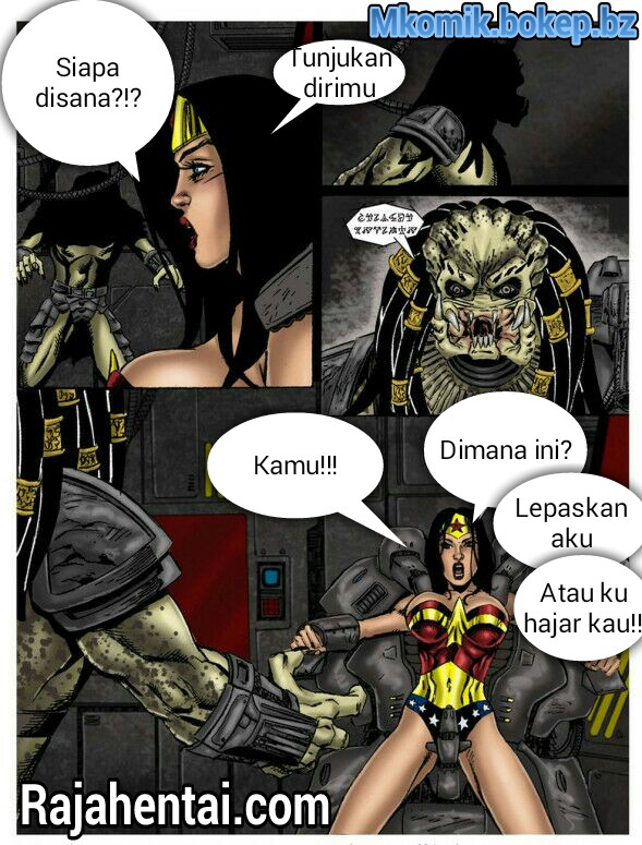 Komik XXX superhero 3D
