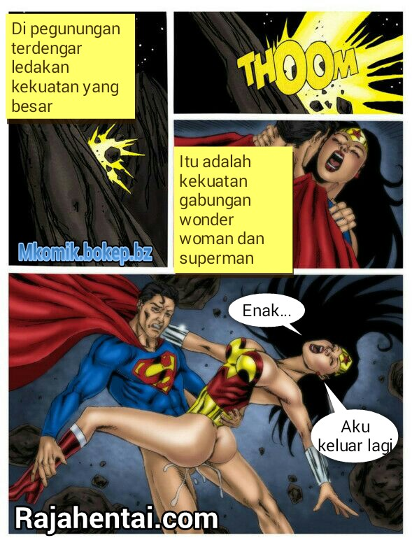 hentai wonder woman Komik